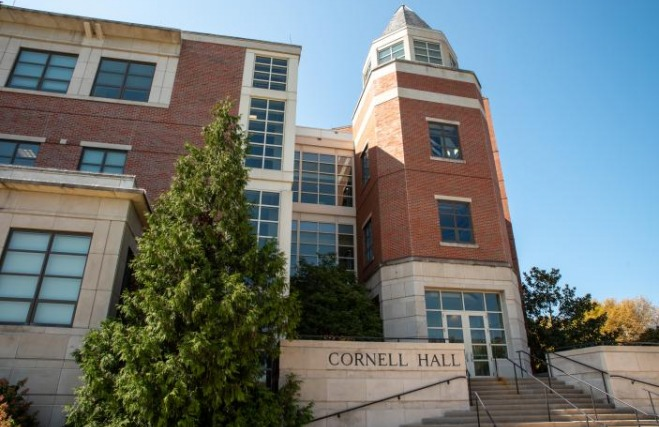 Cornell Hall at Mizzou's Trulaske College of Business.